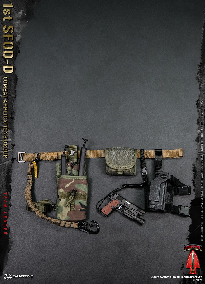 ModernMilitary - NEW PRODUCT: DAMTOYS: 1/6 Delta Special Forces (1st SFOD-D) Captain Action Figure 78077# 15453110