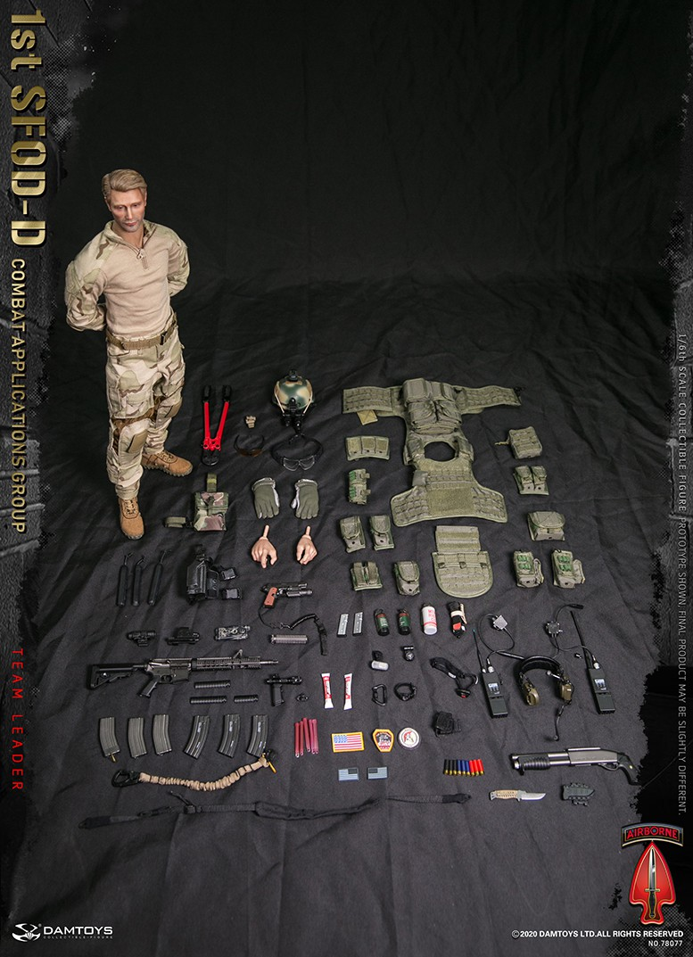ModernMilitary - NEW PRODUCT: DAMTOYS: 1/6 Delta Special Forces (1st SFOD-D) Captain Action Figure 78077# 15453111