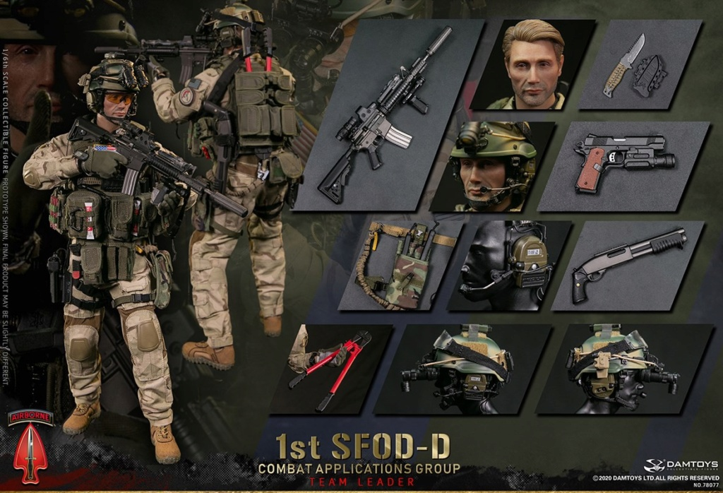 ModernMilitary - NEW PRODUCT: DAMTOYS: 1/6 Delta Special Forces (1st SFOD-D) Captain Action Figure 78077# 15453210