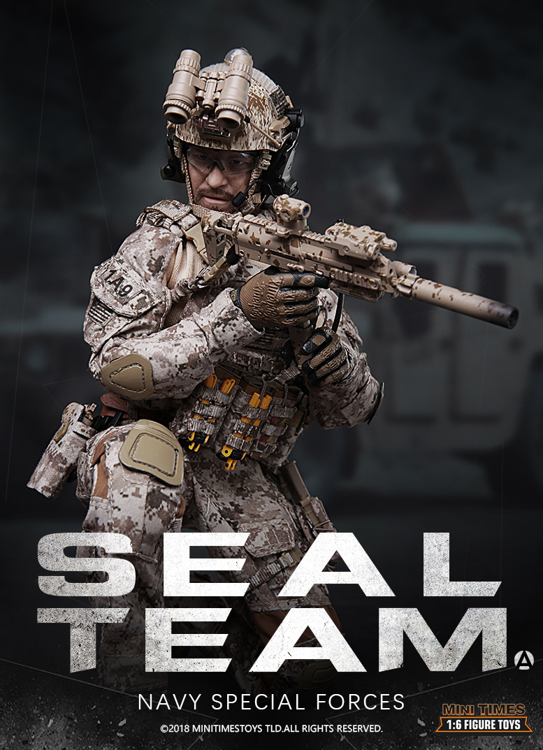 minitimes - NEW PRODUCT: MINI TIMES TOYS US NAVY SEAL TEAM SPECIAL FORCES 1/6 SCALE ACTION FIGURE MT-M012 1546