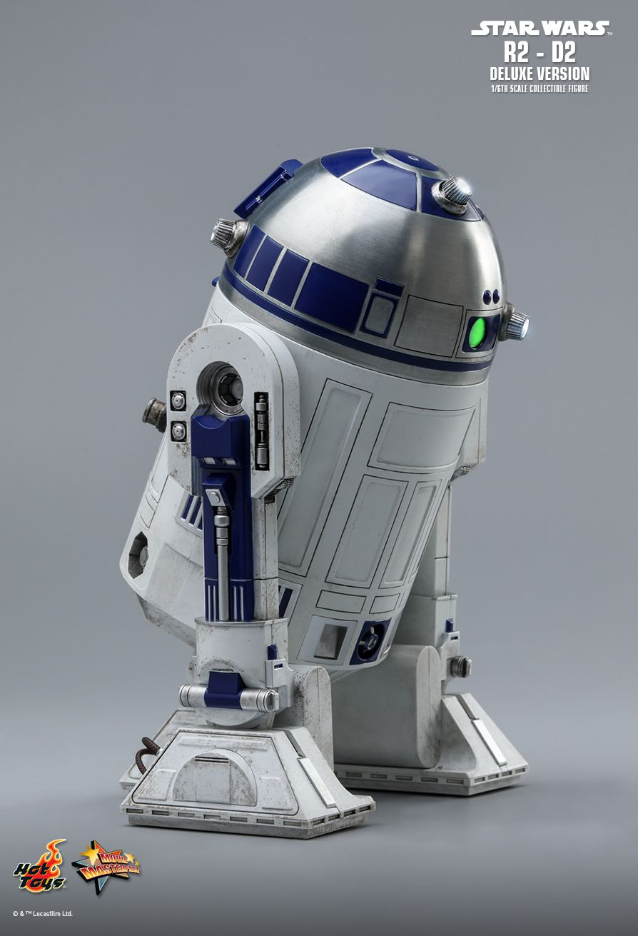 NEW PRODUCT: HOT TOYS: STAR WARS R2-D2 DELUXE VERSION 1/6TH SCALE COLLECTIBLE FIGURE 1548