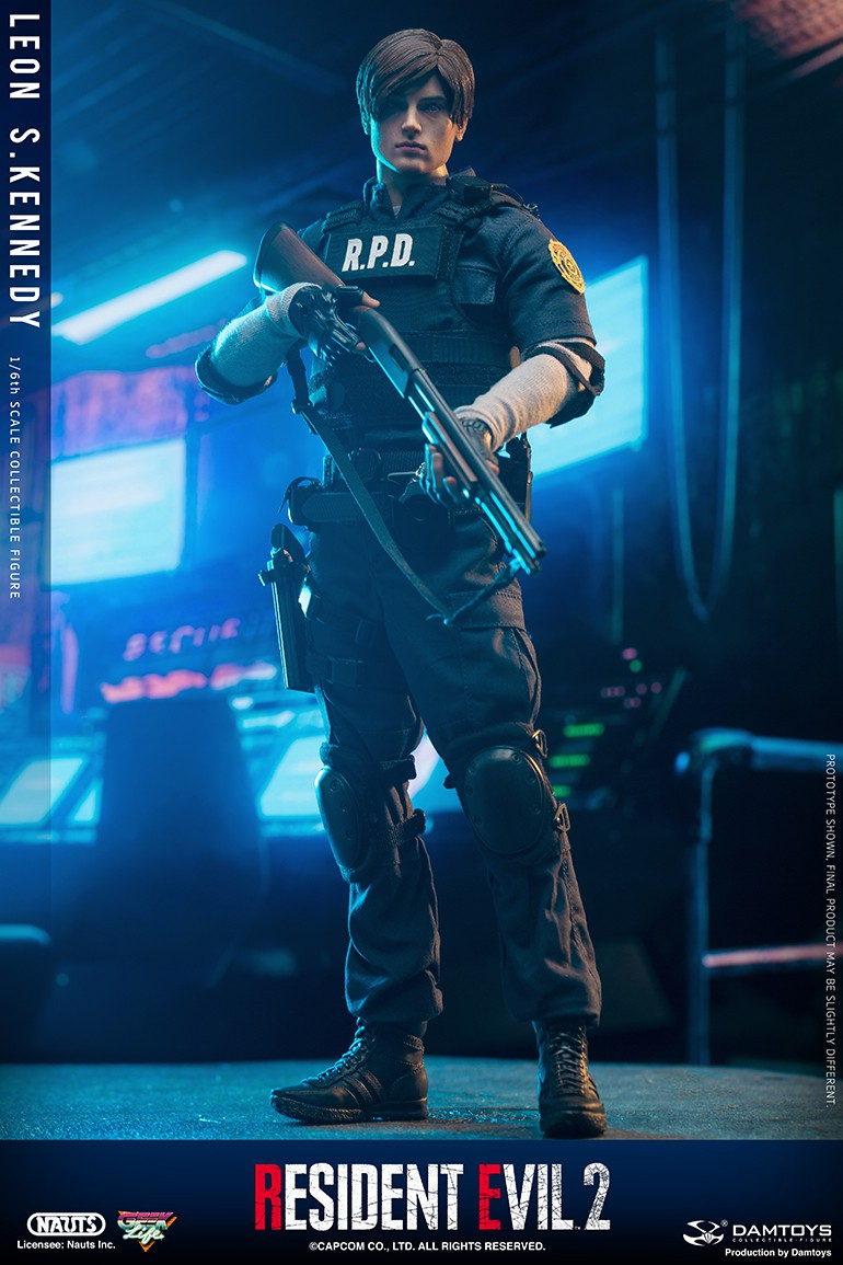"Sci-Fi - NEW PRODUCT: NAUTS & DAMTOYS: 1/6 ""Resident Evil 2""-LEON S.KENNEDY/Lyon S. Kennedy remake #DMS030  15512210"