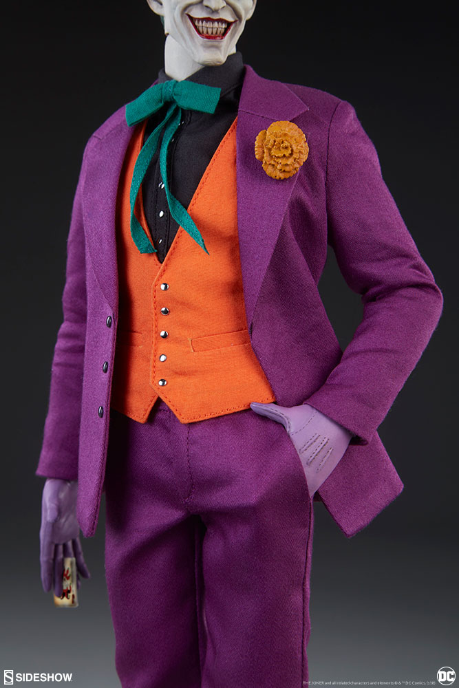 batman - NEW PRODUCT: SIDESHOW COLLECTIBLES: The Joker Sixth Scale Figure (Exclusive Laughing Head Sculpt) 1557