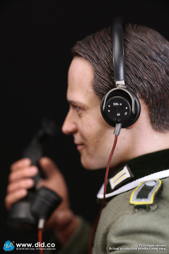 DiD - NEW PRODUCT: Gerd - WH Radio Operator - WWII German Communications Series 3 - DiD 1/6 Scale Figure 1562