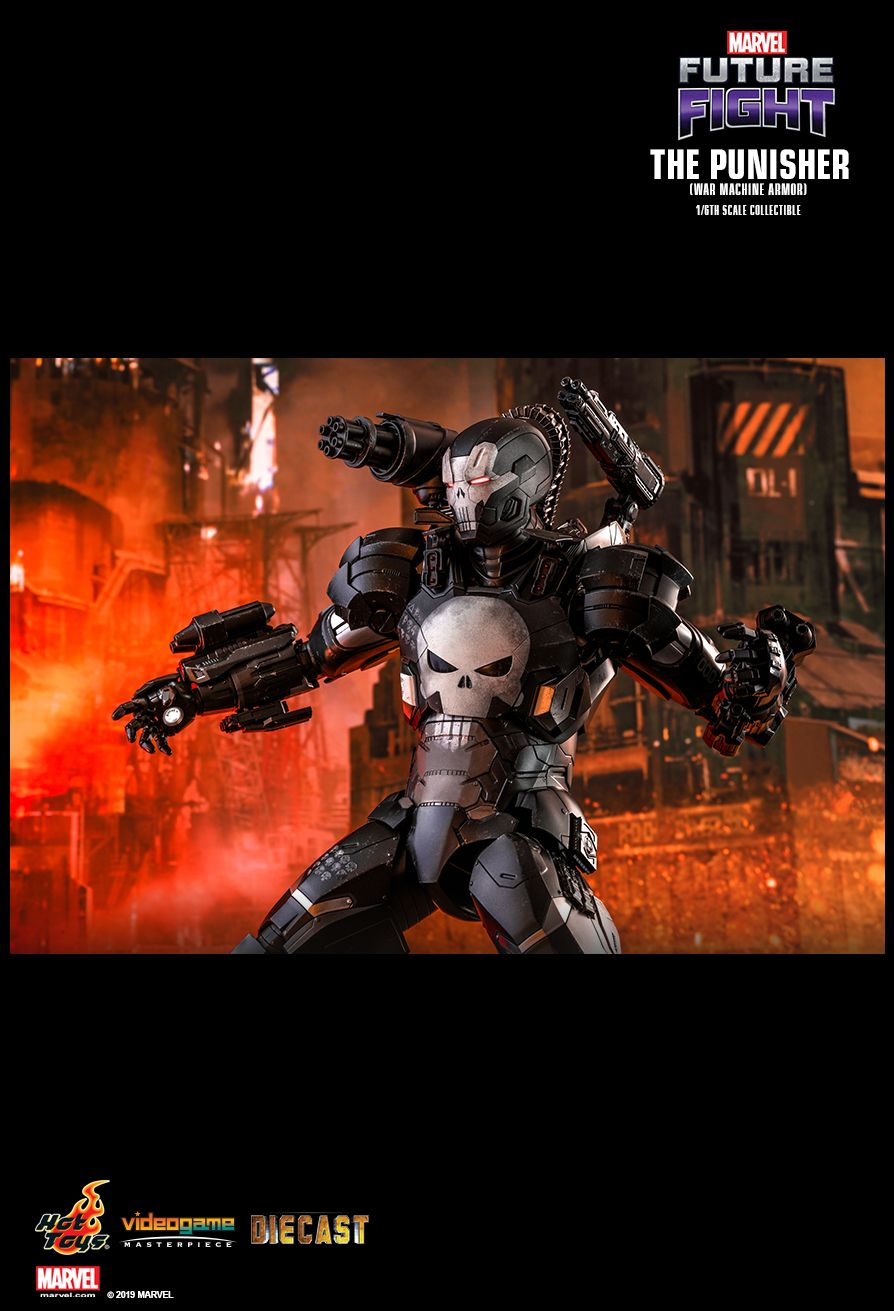 Videogame - NEW PRODUCT: HOT TOYS: MARVEL FUTURE FIGHT THE PUNISHER (WAR MACHINE ARMOR) 1/6TH SCALE COLLECTIBLE FIGURE 1570