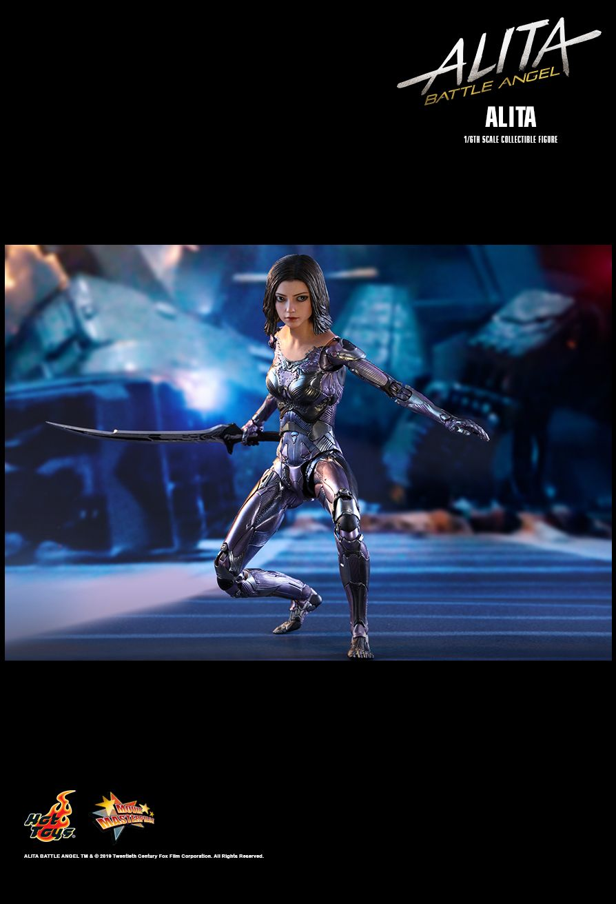Alita - NEW PRODUCT: HOT TOYS: ALITA: BATTLE ANGEL ALITA 1/6TH SCALE COLLECTIBLE FIGURE 1573