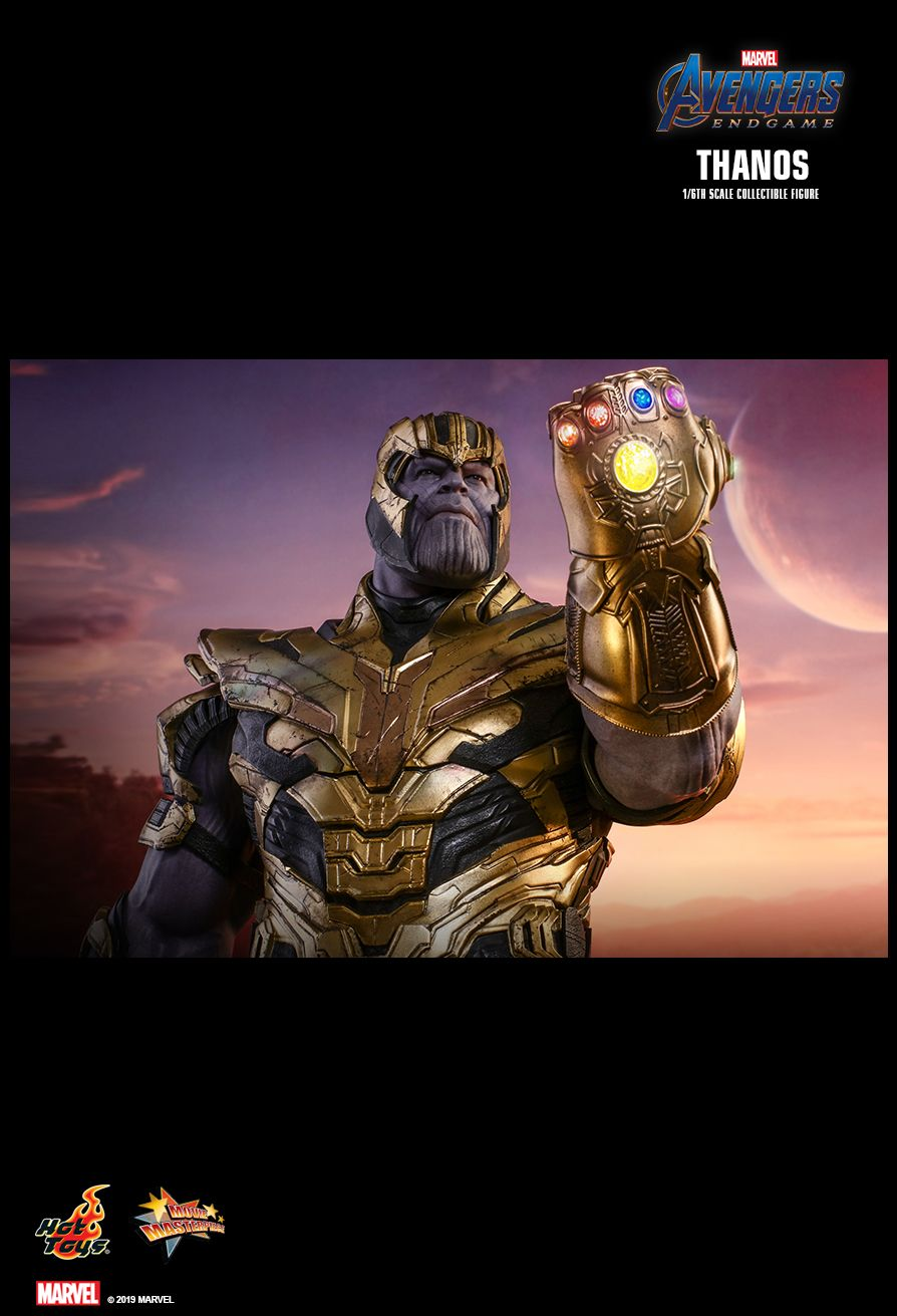 Thanos - NEW PRODUCT: HOT TOYS: AVENGERS: ENDGAME THANOS 1/6TH SCALE COLLECTIBLE FIGURE 1594