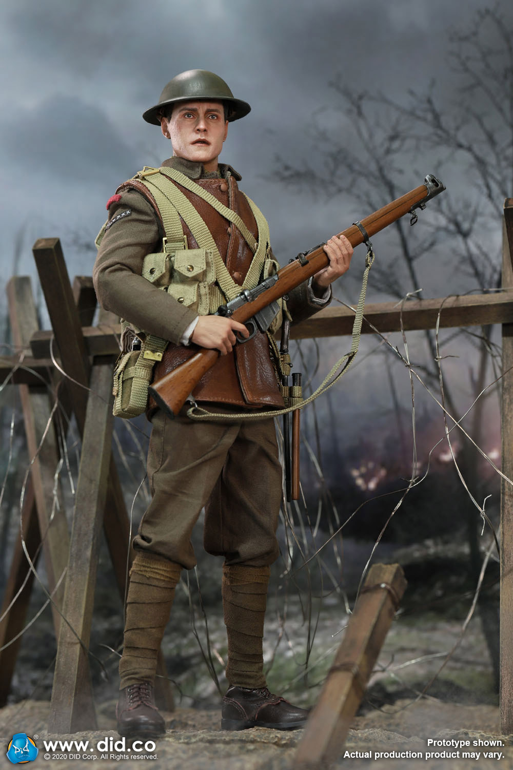 military - NEW PRODUCT: DiD: B11011 WWI British Infantry Lance Corporal William & Trench Diorama Set (UPDATED INFORMATION) 15b8f510
