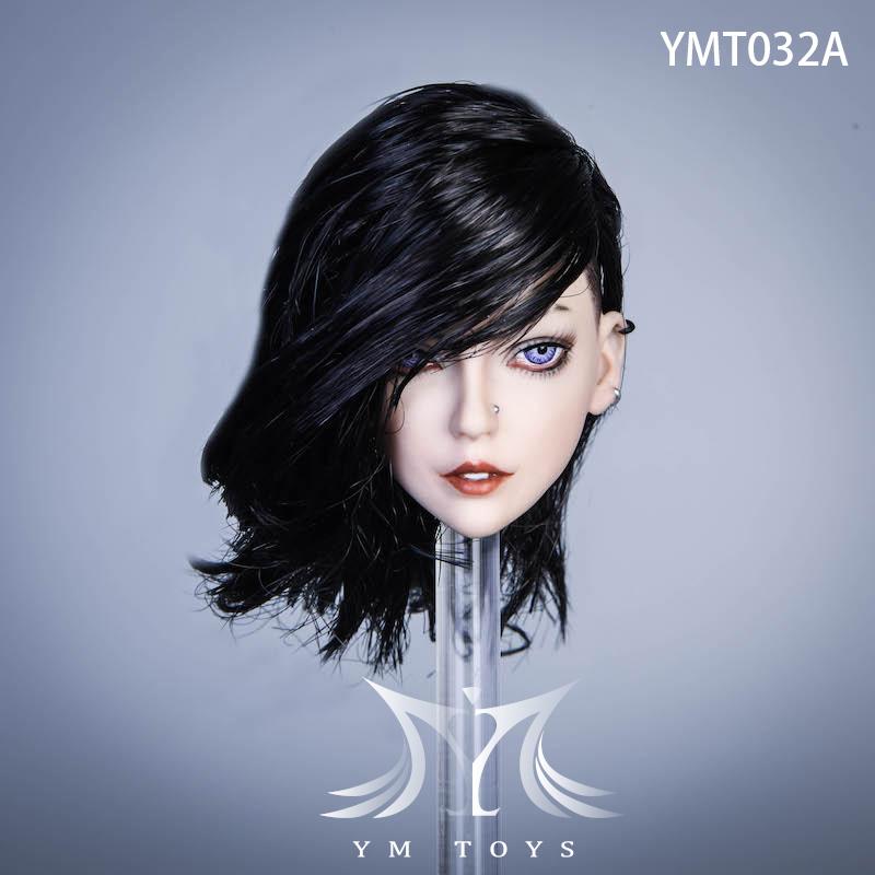 headsculpt - NEW PRODUCT: YMTOYS: 1/6 Female hair transplanting head-Lola, Iser, Suer, Alice-three models 16012711