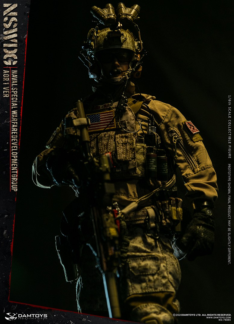 ModernMilitary - NEW PRODUCT: DAMTOYS: 1/6 Naval Special Operations Development Brigade NSWDG-AOR1 camouflage version 78065 # 16032410