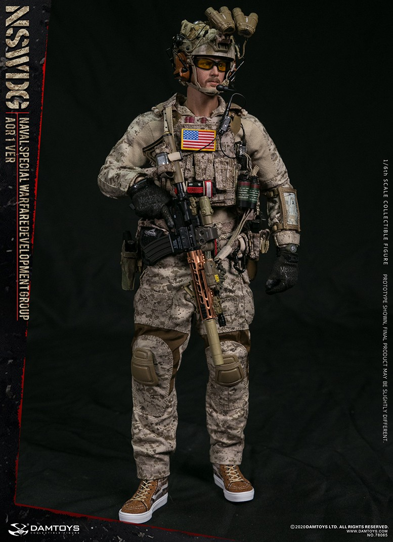 ModernMilitary - NEW PRODUCT: DAMTOYS: 1/6 Naval Special Operations Development Brigade NSWDG-AOR1 camouflage version 78065 # 16032610