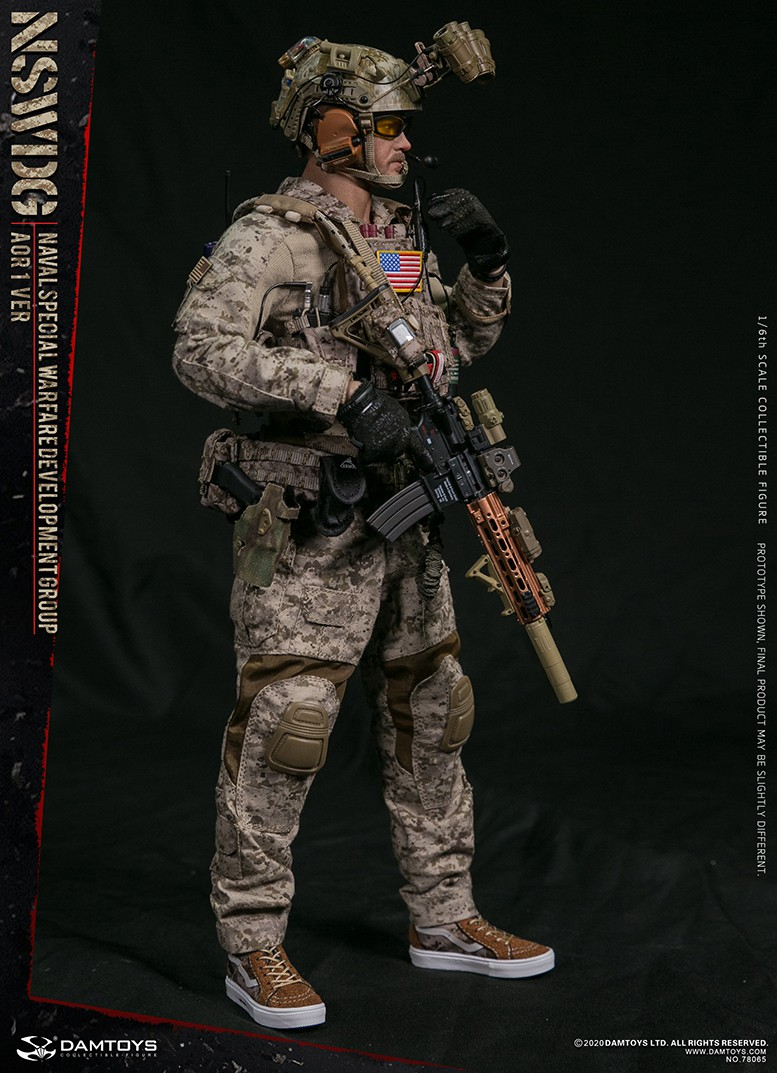 ModernMilitary - NEW PRODUCT: DAMTOYS: 1/6 Naval Special Operations Development Brigade NSWDG-AOR1 camouflage version 78065 # 16032710
