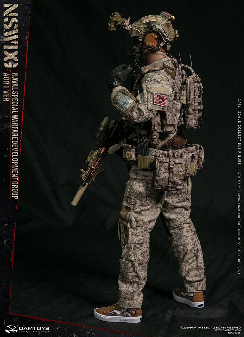 ModernMilitary - NEW PRODUCT: DAMTOYS: 1/6 Naval Special Operations Development Brigade NSWDG-AOR1 camouflage version 78065 # 16032810