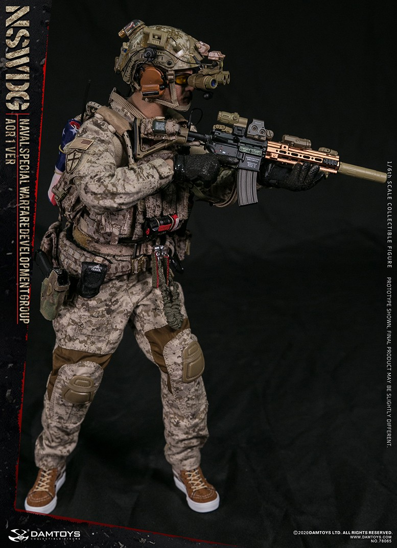 ModernMilitary - NEW PRODUCT: DAMTOYS: 1/6 Naval Special Operations Development Brigade NSWDG-AOR1 camouflage version 78065 # 16033410