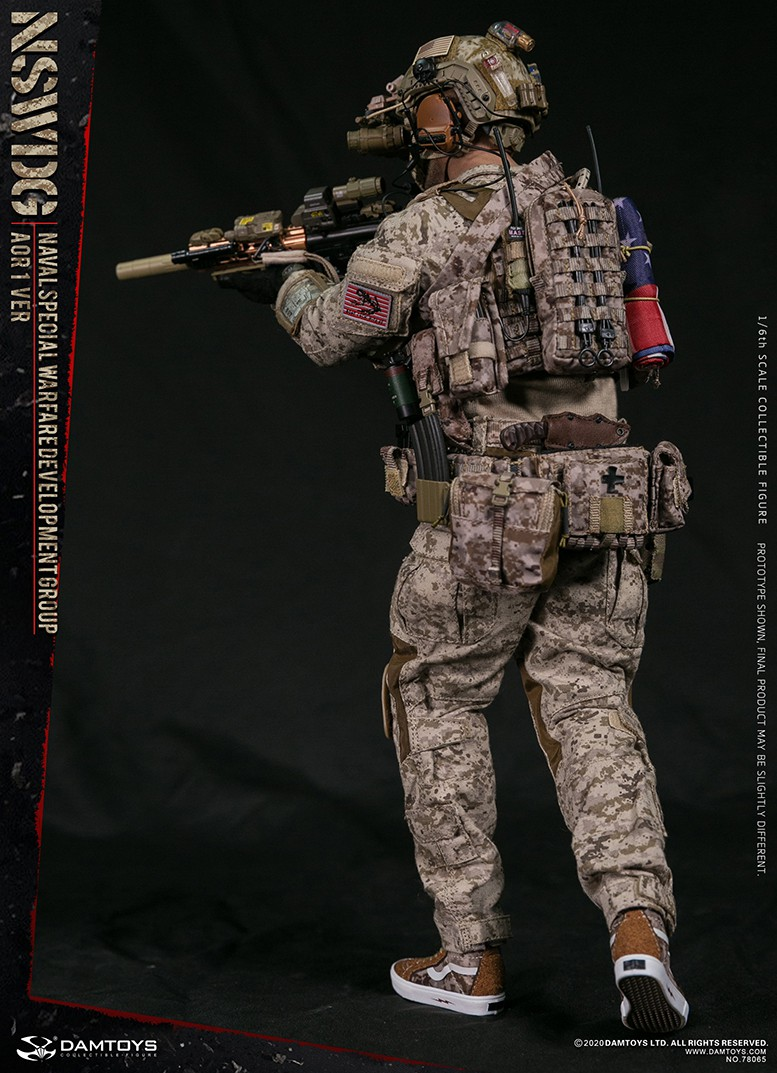 ModernMilitary - NEW PRODUCT: DAMTOYS: 1/6 Naval Special Operations Development Brigade NSWDG-AOR1 camouflage version 78065 # 16033510