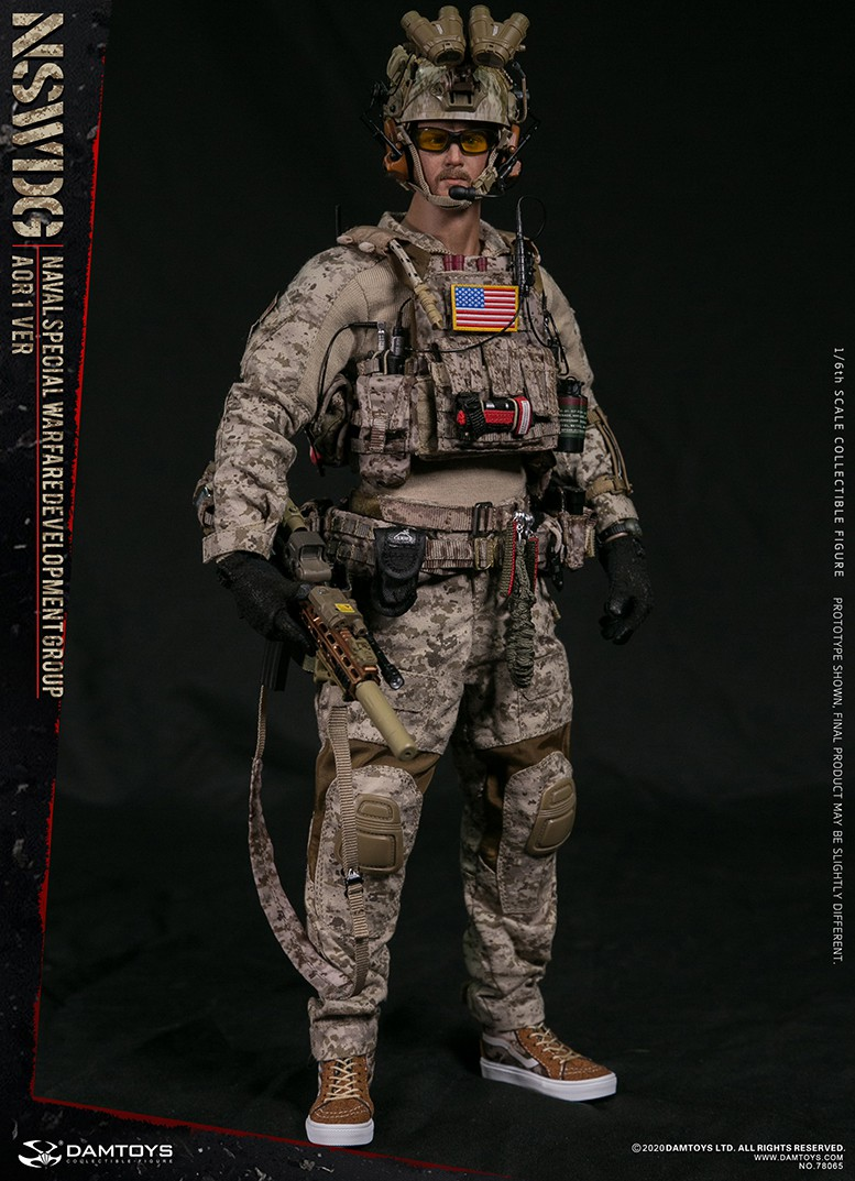 ModernMilitary - NEW PRODUCT: DAMTOYS: 1/6 Naval Special Operations Development Brigade NSWDG-AOR1 camouflage version 78065 # 16033610