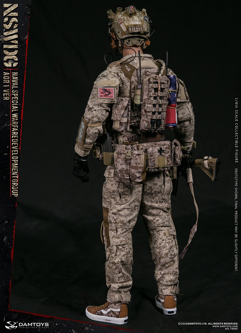 ModernMilitary - NEW PRODUCT: DAMTOYS: 1/6 Naval Special Operations Development Brigade NSWDG-AOR1 camouflage version 78065 # 16033710
