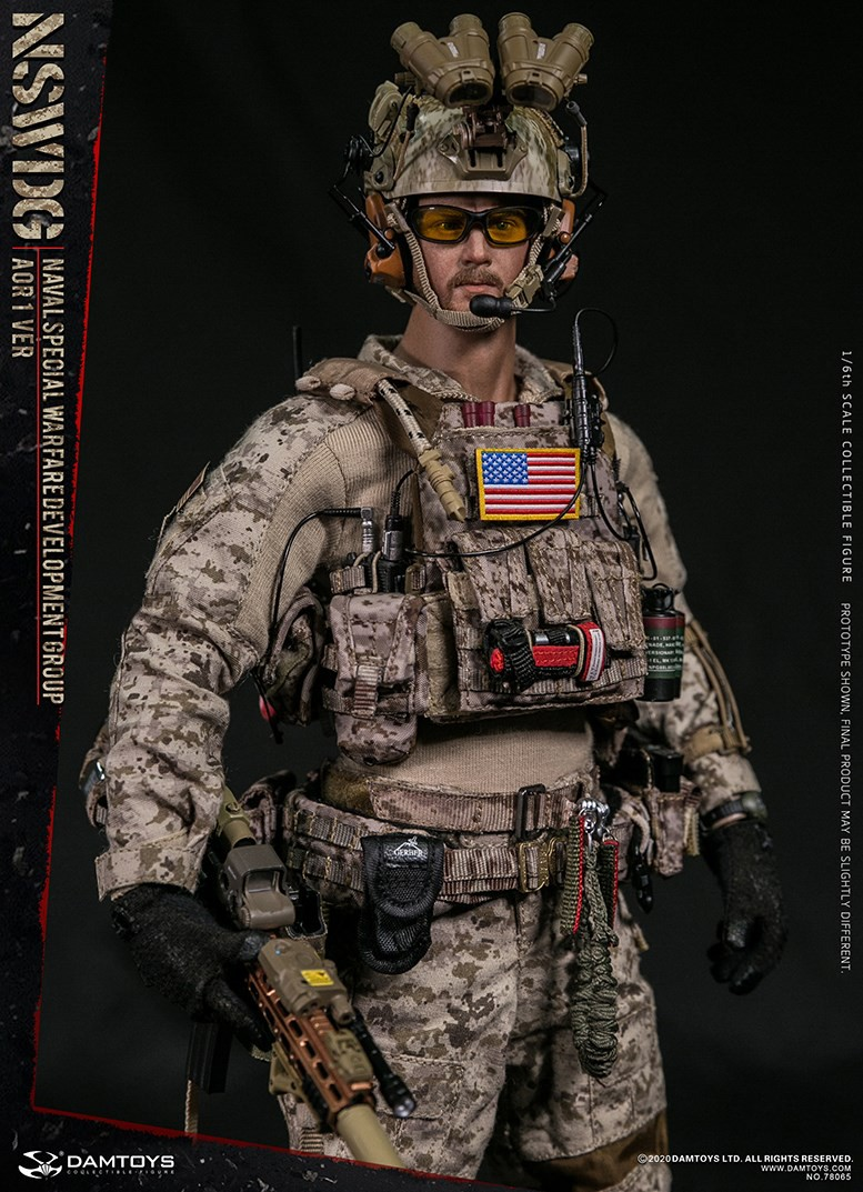 ModernMilitary - NEW PRODUCT: DAMTOYS: 1/6 Naval Special Operations Development Brigade NSWDG-AOR1 camouflage version 78065 # 16033910
