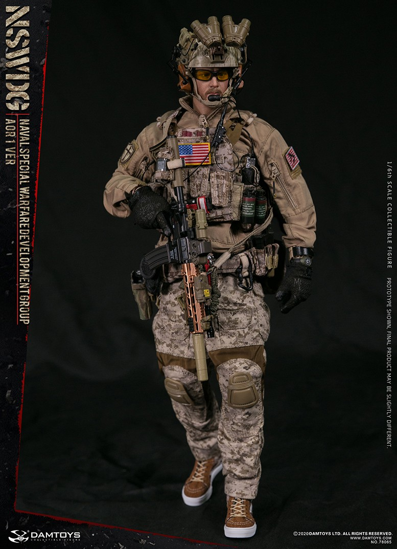 ModernMilitary - NEW PRODUCT: DAMTOYS: 1/6 Naval Special Operations Development Brigade NSWDG-AOR1 camouflage version 78065 # 16034010