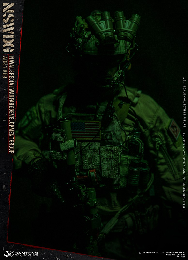 ModernMilitary - NEW PRODUCT: DAMTOYS: 1/6 Naval Special Operations Development Brigade NSWDG-AOR1 camouflage version 78065 # 16034110