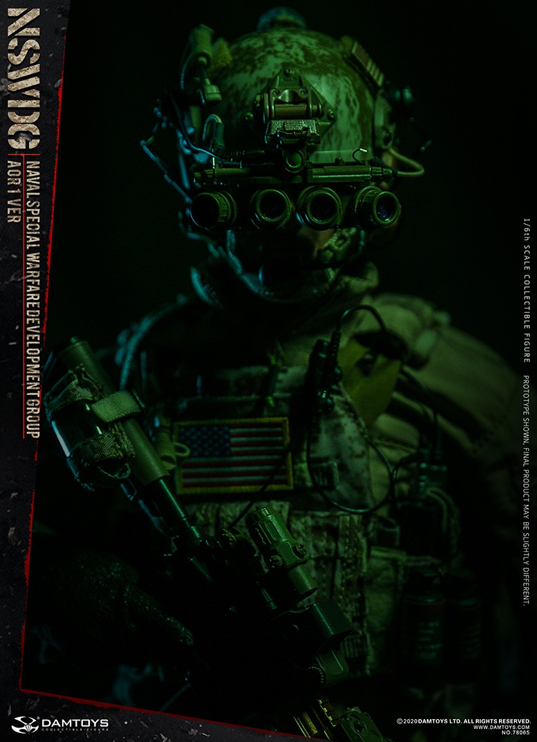 ModernMilitary - NEW PRODUCT: DAMTOYS: 1/6 Naval Special Operations Development Brigade NSWDG-AOR1 camouflage version 78065 # 16034210