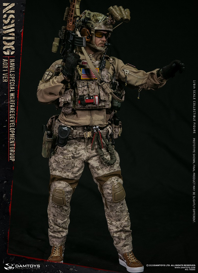 ModernMilitary - NEW PRODUCT: DAMTOYS: 1/6 Naval Special Operations Development Brigade NSWDG-AOR1 camouflage version 78065 # 16034410