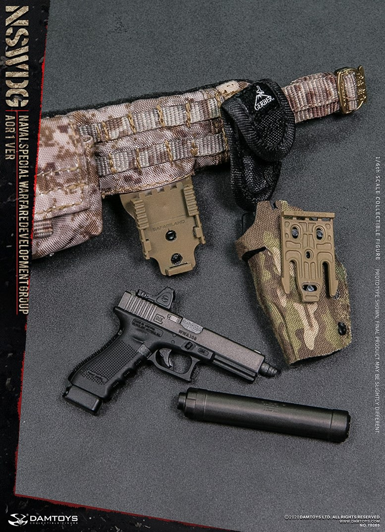 ModernMilitary - NEW PRODUCT: DAMTOYS: 1/6 Naval Special Operations Development Brigade NSWDG-AOR1 camouflage version 78065 # 16035310