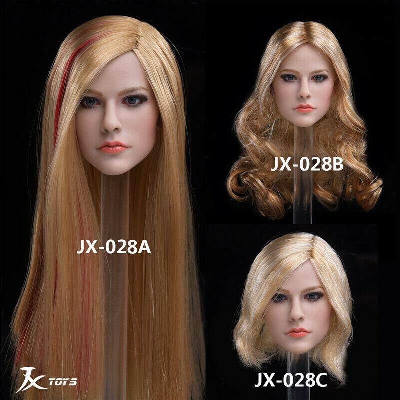 NEW PRODUCT: JXTOYS JX-029 Avril Head Sculpt H#Suntan 1604