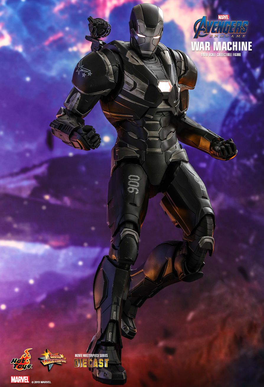 WarMachine - NEW PRODUCT: HOT TOYS: AVENGERS: ENDGAME WAR MACHINE 1/6TH SCALE COLLECTIBLE FIGURE 1605