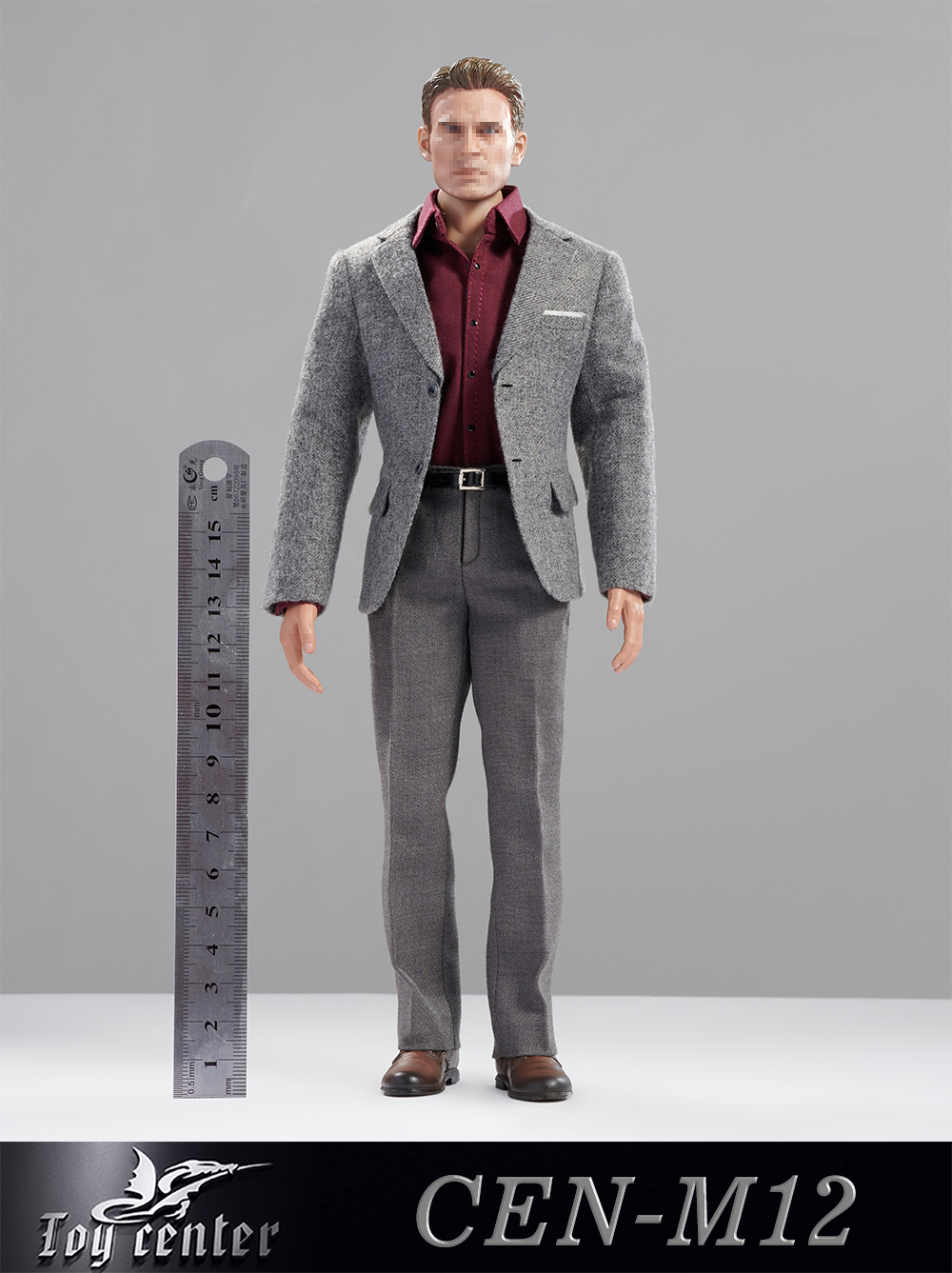 clothes - NEW PRODUCT: Toy center: 1/6 US team old casual suit CEN-M12# 16064611