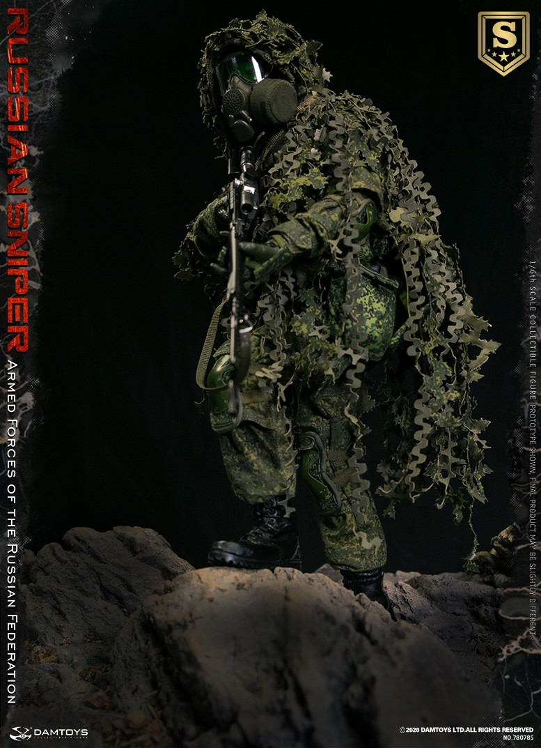 modernmilitary - NEW PRODUCT: DAMTOYS: 1/6 Russian Armed Forces-Russian Sniper Special Edition 78078S / Elite Edition 78078 16084210