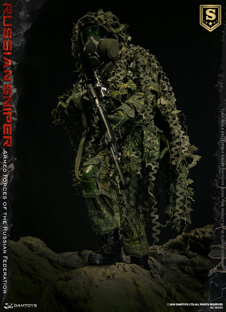 modernmilitary - NEW PRODUCT: DAMTOYS: 1/6 Russian Armed Forces-Russian Sniper Special Edition 78078S / Elite Edition 78078 16084310