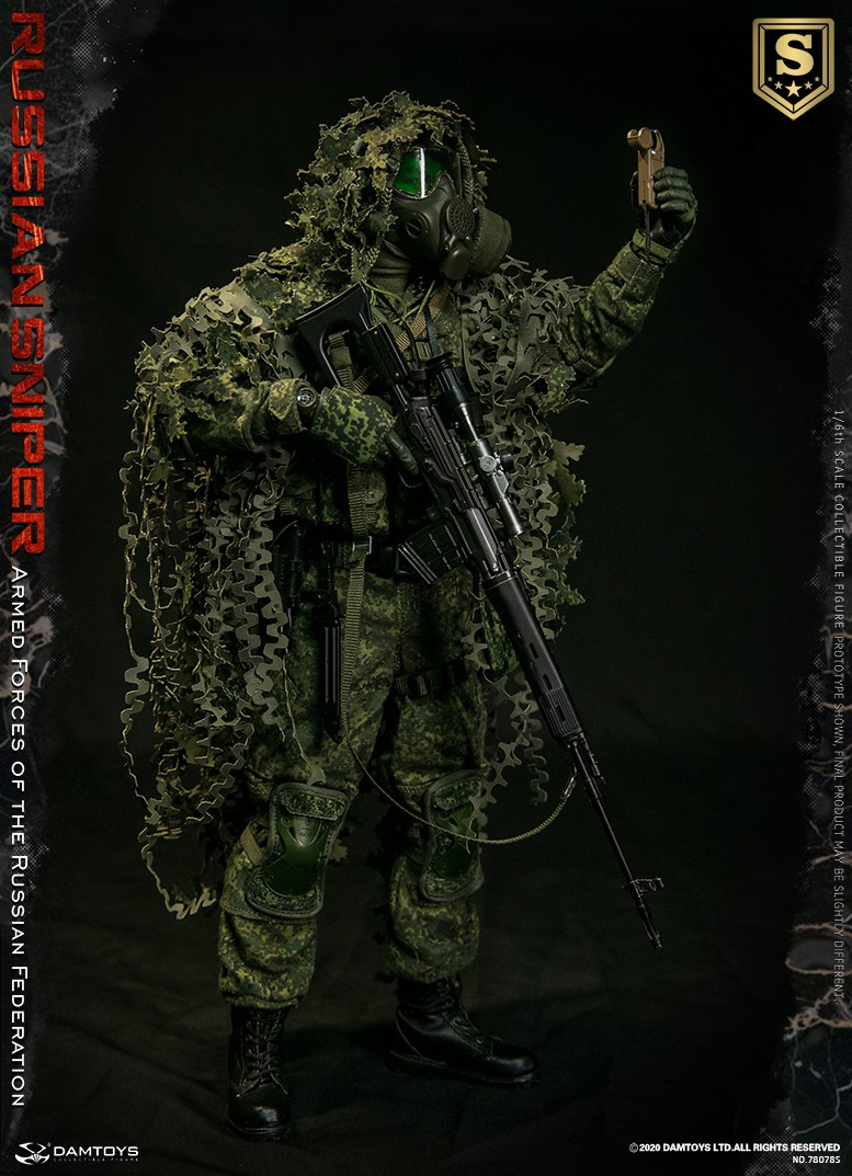 modernmilitary - NEW PRODUCT: DAMTOYS: 1/6 Russian Armed Forces-Russian Sniper Special Edition 78078S / Elite Edition 78078 16084411