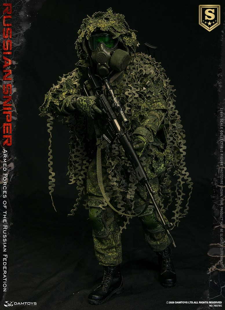 modernmilitary - NEW PRODUCT: DAMTOYS: 1/6 Russian Armed Forces-Russian Sniper Special Edition 78078S / Elite Edition 78078 16084513