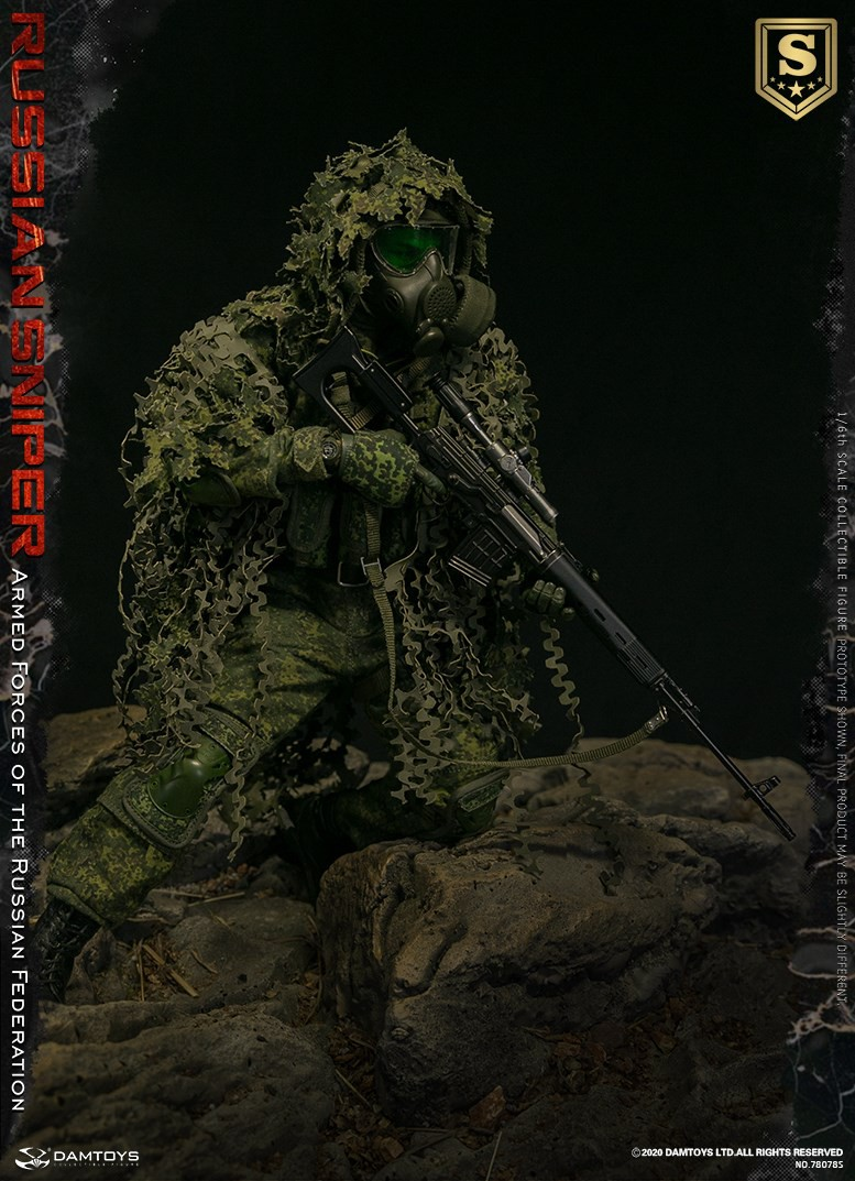 modernmilitary - NEW PRODUCT: DAMTOYS: 1/6 Russian Armed Forces-Russian Sniper Special Edition 78078S / Elite Edition 78078 16084610