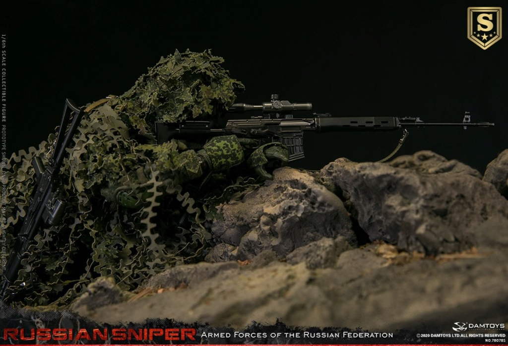 modernmilitary - NEW PRODUCT: DAMTOYS: 1/6 Russian Armed Forces-Russian Sniper Special Edition 78078S / Elite Edition 78078 16084711