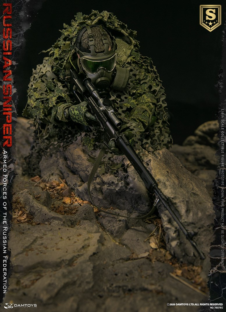 modernmilitary - NEW PRODUCT: DAMTOYS: 1/6 Russian Armed Forces-Russian Sniper Special Edition 78078S / Elite Edition 78078 16084811