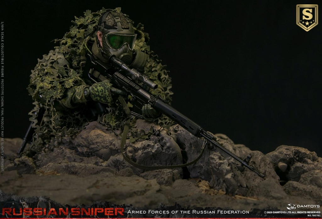 modernmilitary - NEW PRODUCT: DAMTOYS: 1/6 Russian Armed Forces-Russian Sniper Special Edition 78078S / Elite Edition 78078 16084812