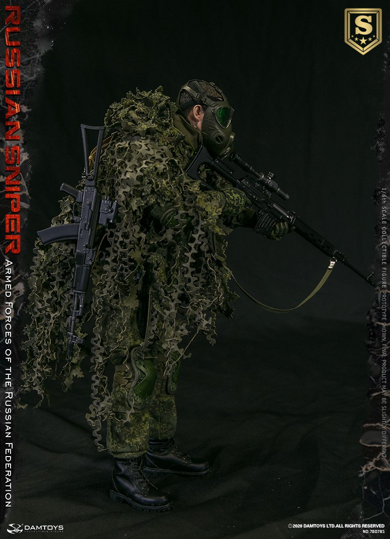 modernmilitary - NEW PRODUCT: DAMTOYS: 1/6 Russian Armed Forces-Russian Sniper Special Edition 78078S / Elite Edition 78078 16084910