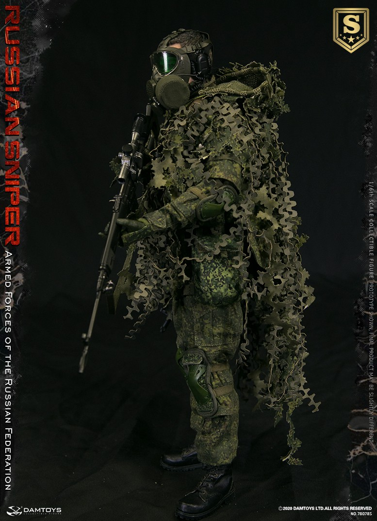 modernmilitary - NEW PRODUCT: DAMTOYS: 1/6 Russian Armed Forces-Russian Sniper Special Edition 78078S / Elite Edition 78078 16085010