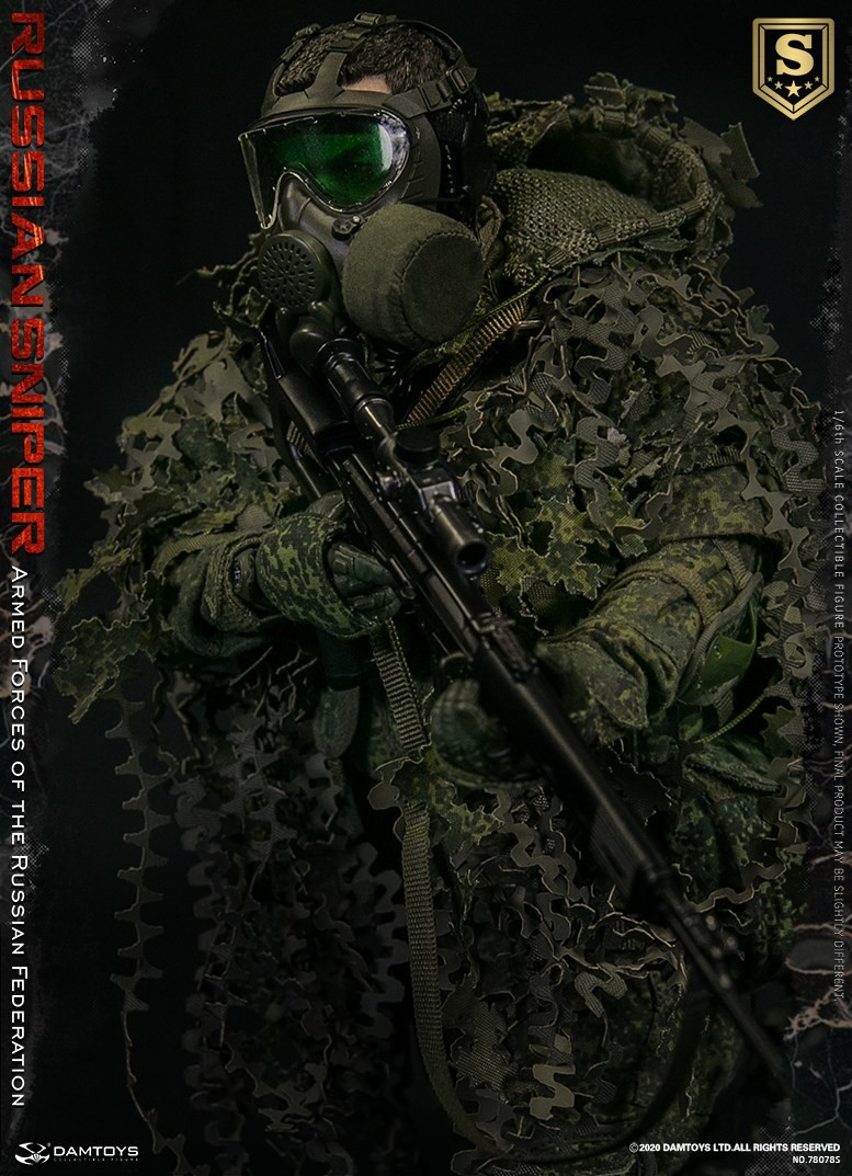 modernmilitary - NEW PRODUCT: DAMTOYS: 1/6 Russian Armed Forces-Russian Sniper Special Edition 78078S / Elite Edition 78078 16085011