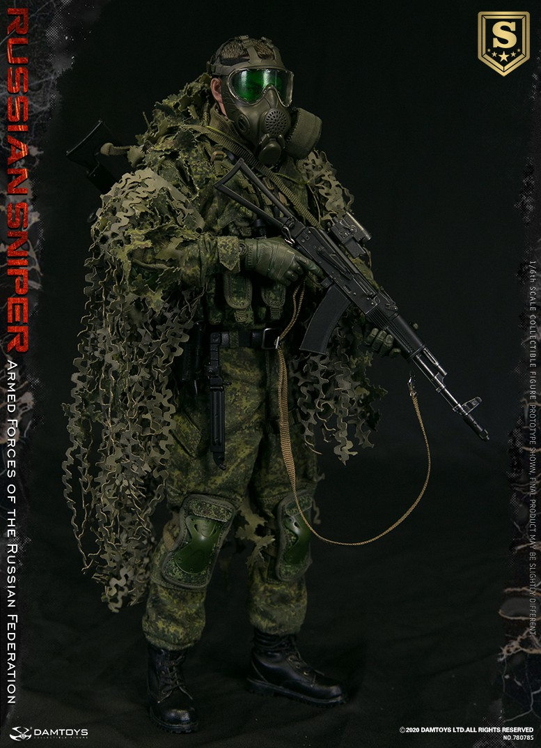 modernmilitary - NEW PRODUCT: DAMTOYS: 1/6 Russian Armed Forces-Russian Sniper Special Edition 78078S / Elite Edition 78078 16085110