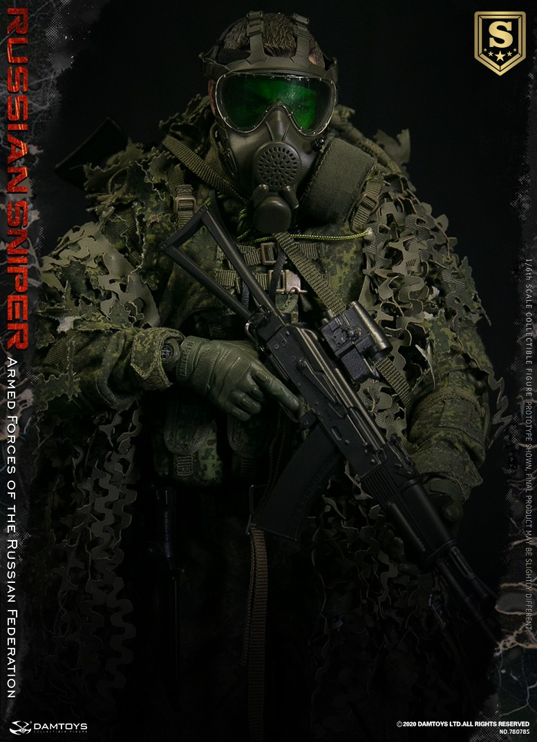modernmilitary - NEW PRODUCT: DAMTOYS: 1/6 Russian Armed Forces-Russian Sniper Special Edition 78078S / Elite Edition 78078 16085210