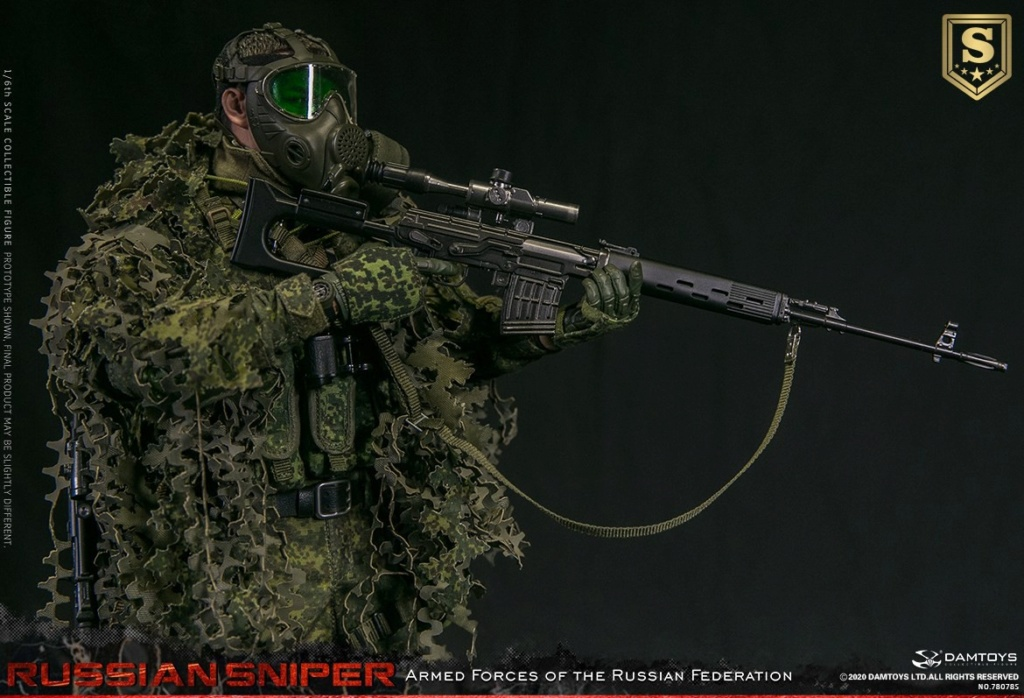 modernmilitary - NEW PRODUCT: DAMTOYS: 1/6 Russian Armed Forces-Russian Sniper Special Edition 78078S / Elite Edition 78078 16085211