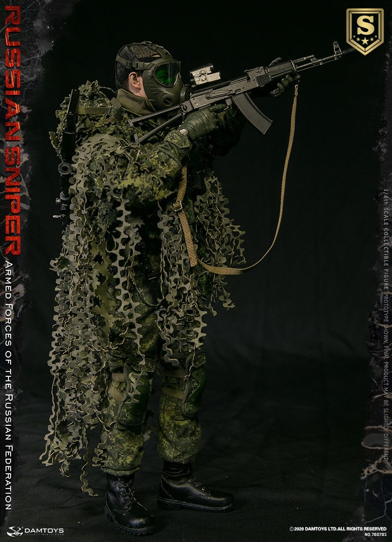 modernmilitary - NEW PRODUCT: DAMTOYS: 1/6 Russian Armed Forces-Russian Sniper Special Edition 78078S / Elite Edition 78078 16085310
