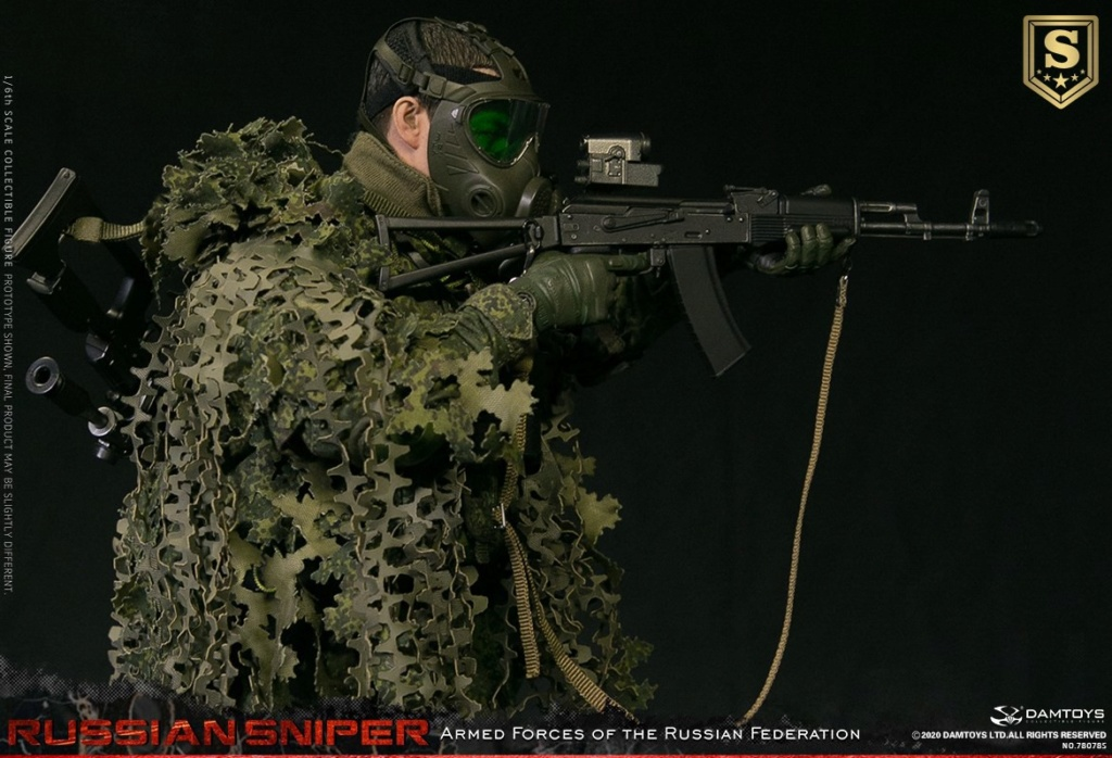 modernmilitary - NEW PRODUCT: DAMTOYS: 1/6 Russian Armed Forces-Russian Sniper Special Edition 78078S / Elite Edition 78078 16085311