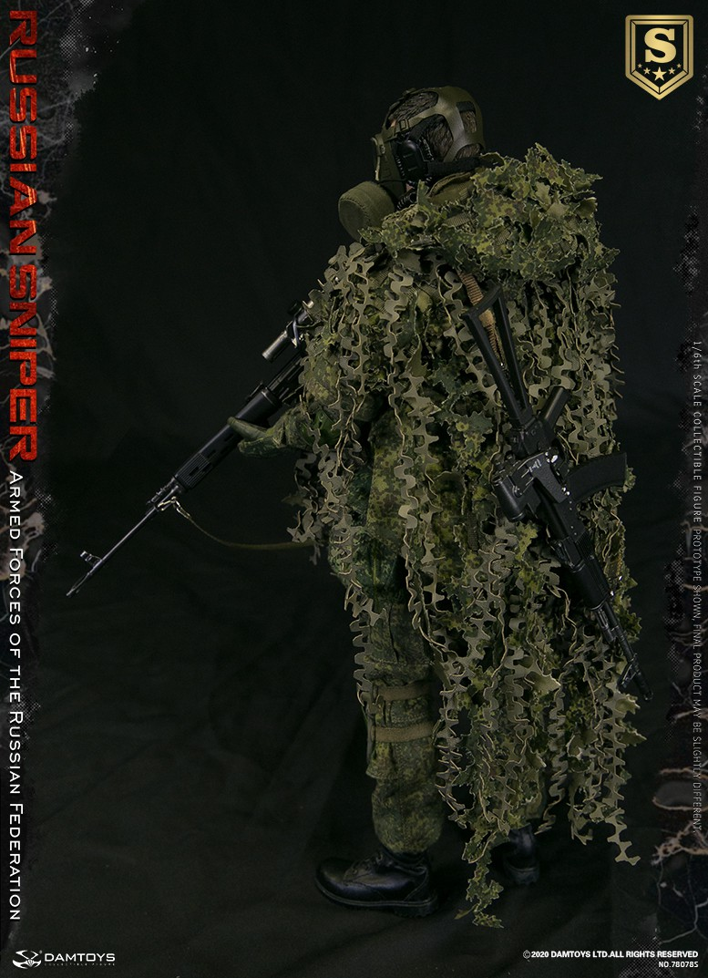 modernmilitary - NEW PRODUCT: DAMTOYS: 1/6 Russian Armed Forces-Russian Sniper Special Edition 78078S / Elite Edition 78078 16085410