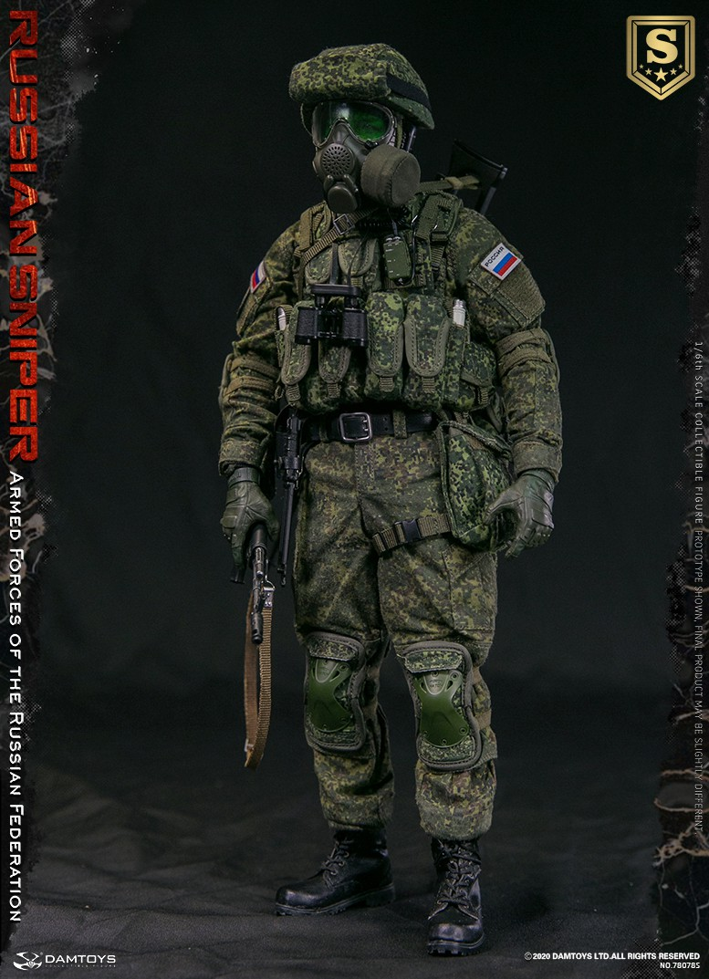 modernmilitary - NEW PRODUCT: DAMTOYS: 1/6 Russian Armed Forces-Russian Sniper Special Edition 78078S / Elite Edition 78078 16085510