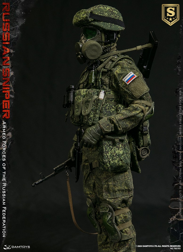 modernmilitary - NEW PRODUCT: DAMTOYS: 1/6 Russian Armed Forces-Russian Sniper Special Edition 78078S / Elite Edition 78078 16085610