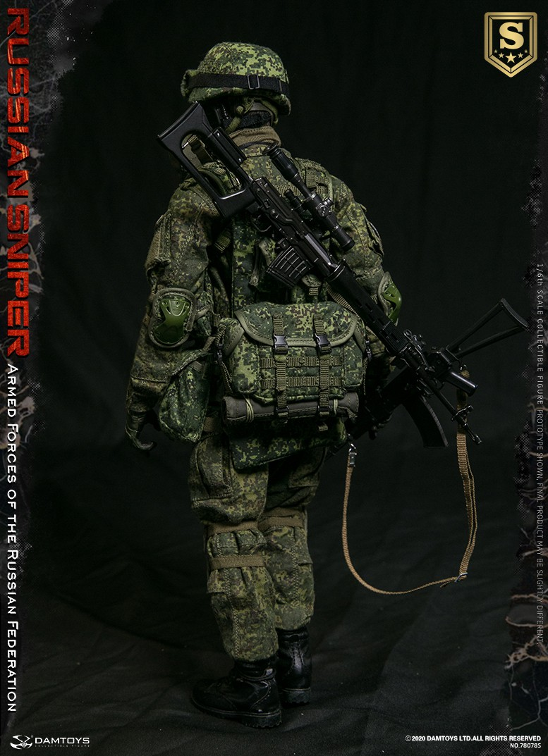 modernmilitary - NEW PRODUCT: DAMTOYS: 1/6 Russian Armed Forces-Russian Sniper Special Edition 78078S / Elite Edition 78078 16085611